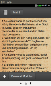 BibleZ NG