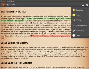 BibleZ NG - Firefox, Ubuntu 12.04