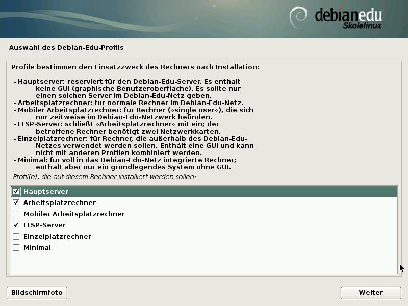 Skolelinux Installation