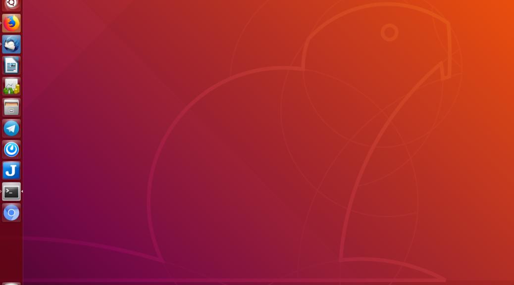 Unity in Ubuntu 18.04