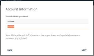 Admin Passwort