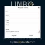 Client registrieren
